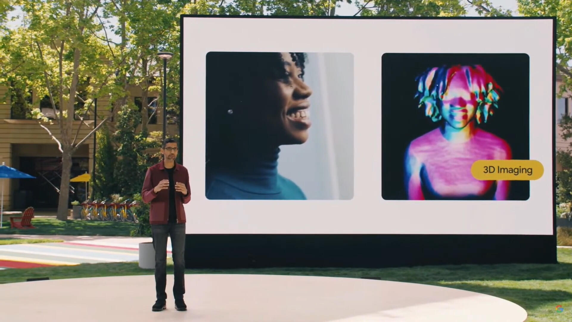 Video: Google reveals 3D video chat with Project Starline