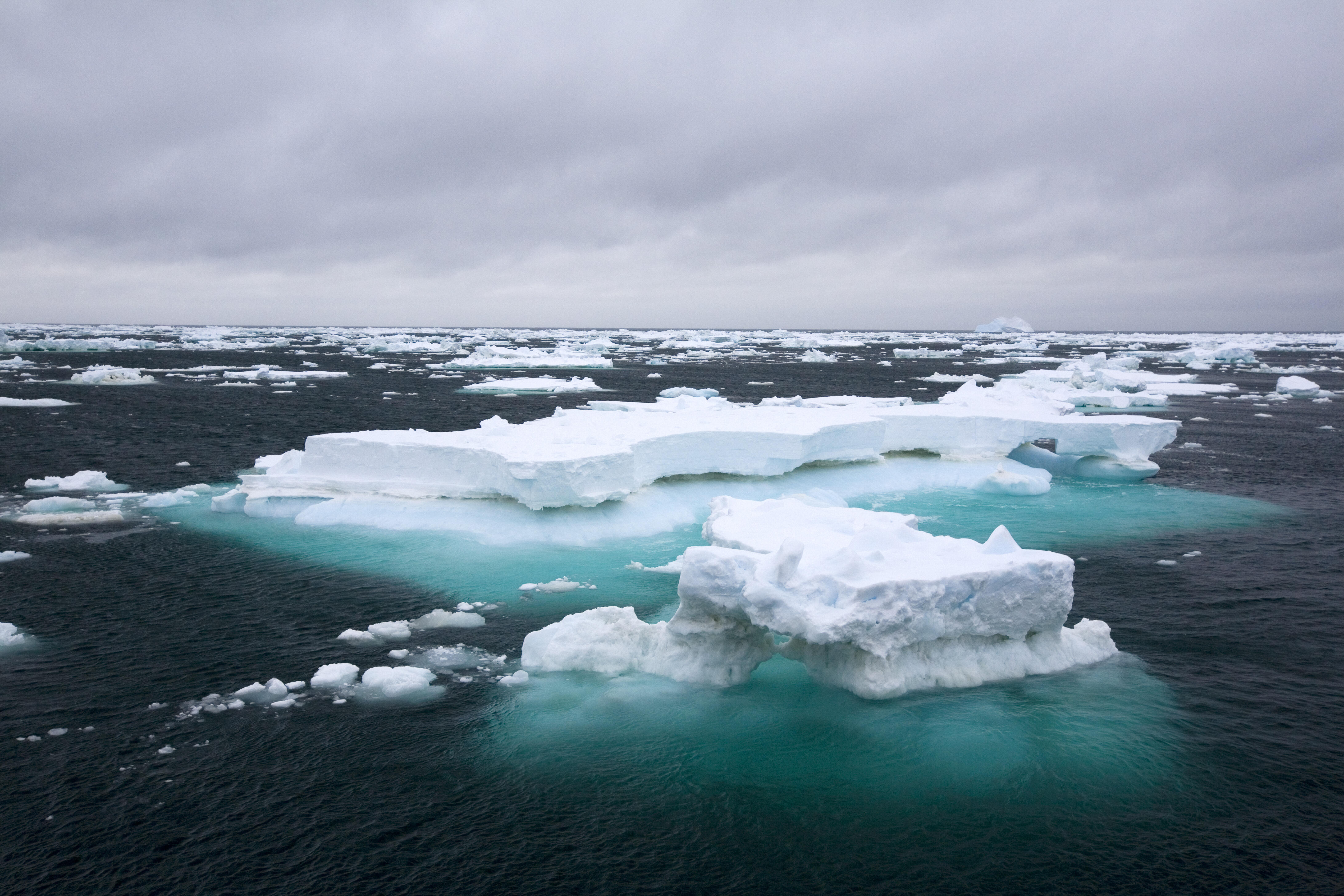 Ice in the Southern Ocean