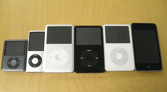 Lots of iPods.