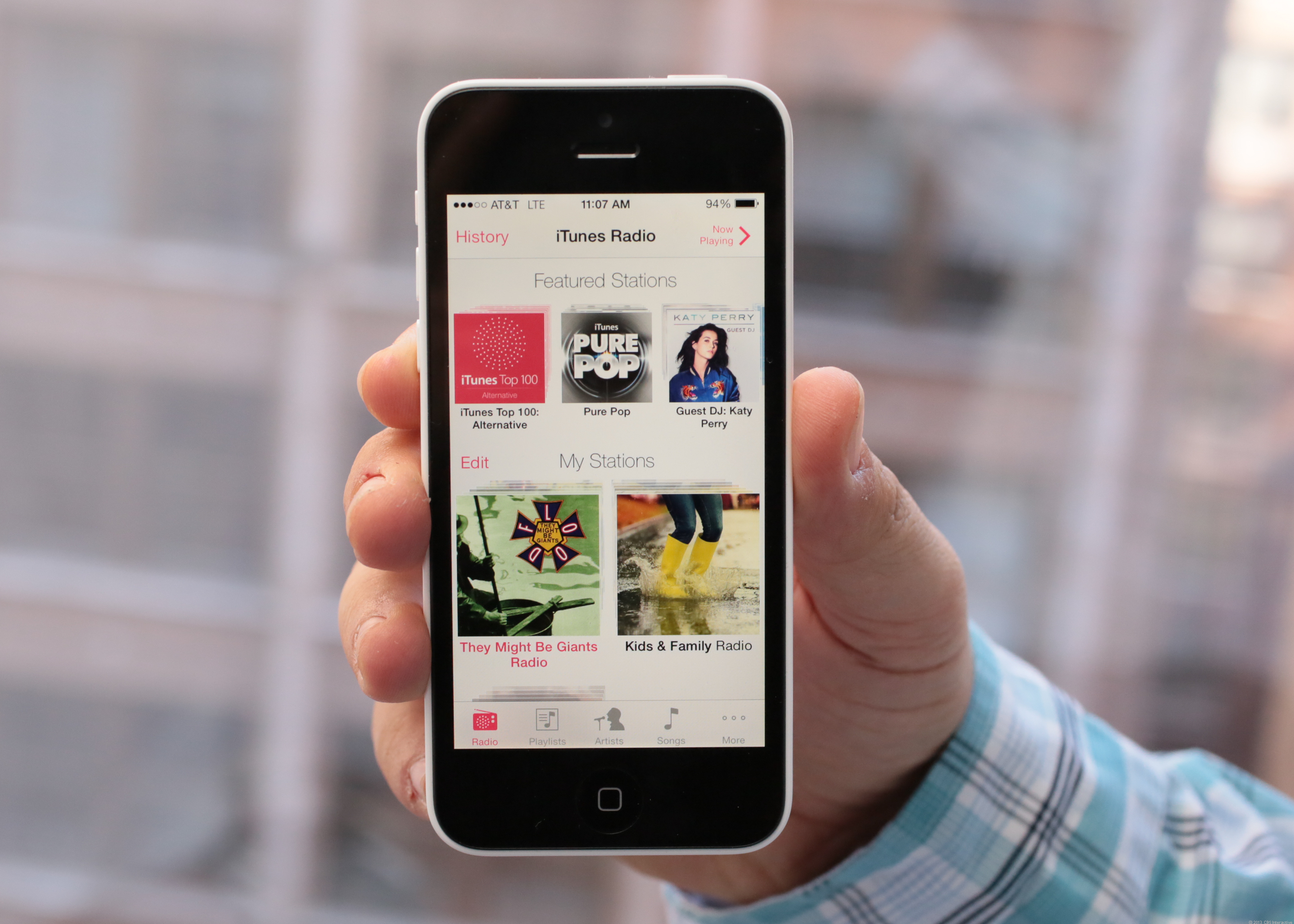Stream the hits with iTunes Radio