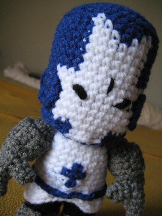 Blue Knight from Castle Crashers