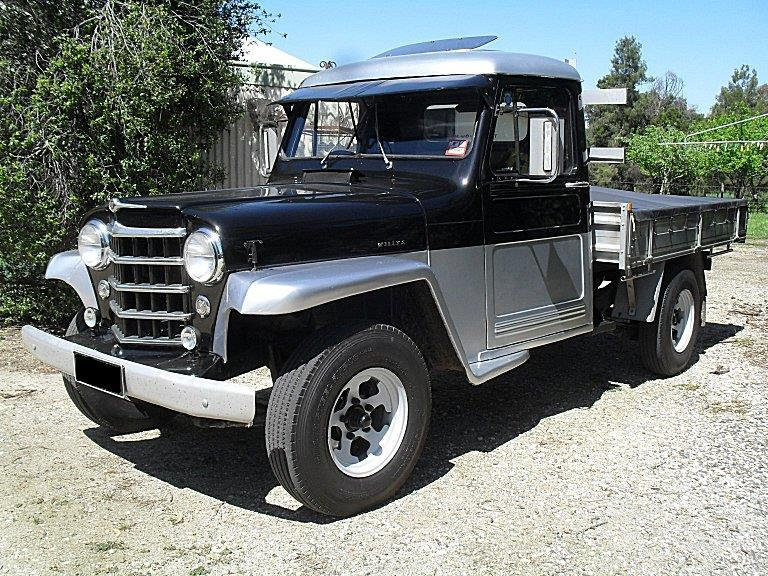 """<p>""""Here's my 1951 Willys (two wheel drive) Jeep truck. I purchased her from my Dad, back in 1973, as pretty much a basket case, and have spent a lot of time and a lot of money, getting her exactly the way I want....""""</p>"""