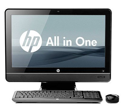 The HP Compaq 8200 Elite all-in-one PC.