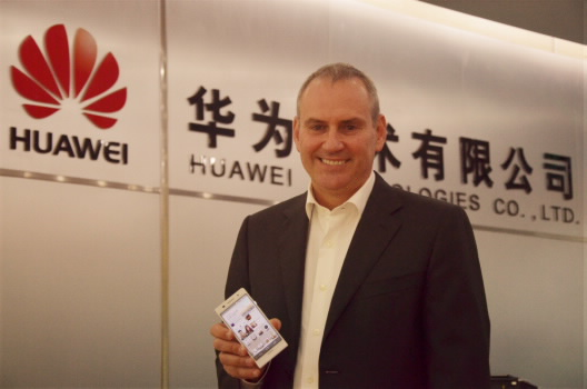 Colin Giles, Executive Vice President of Huawei's Consumer Business Group.