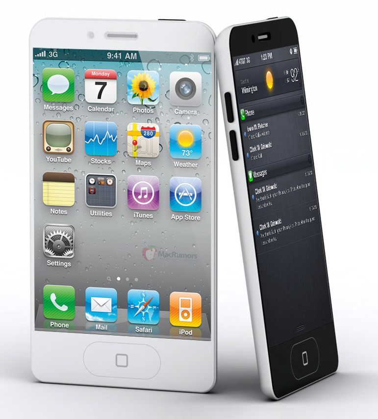 Hello, gorgeous! If some leaked case specs are to be believed, the iPhone 5 might look very much like this.