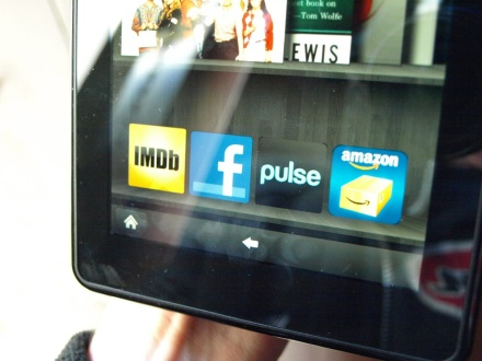 Amazon Kindle Fire Facebook app