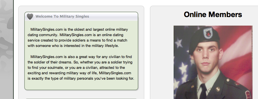 Hackers expose e-mail addresses, passwords, and other data they said comes from dating site Military Singles.com.