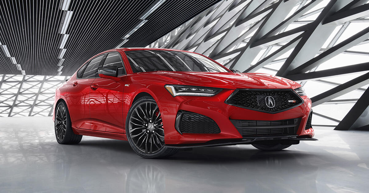 2021 Acura Tlx And Type S Have Turbo Engines And Seriously Sharp Style Roadshow