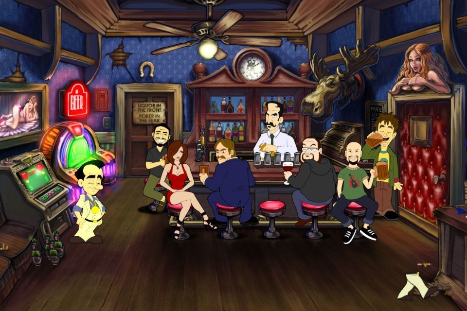 Leisure Suit Larry: Reloaded for iOS looks nice, but it feels cramped on an iPhone.