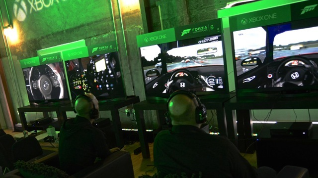 On the scene at Xbox One event