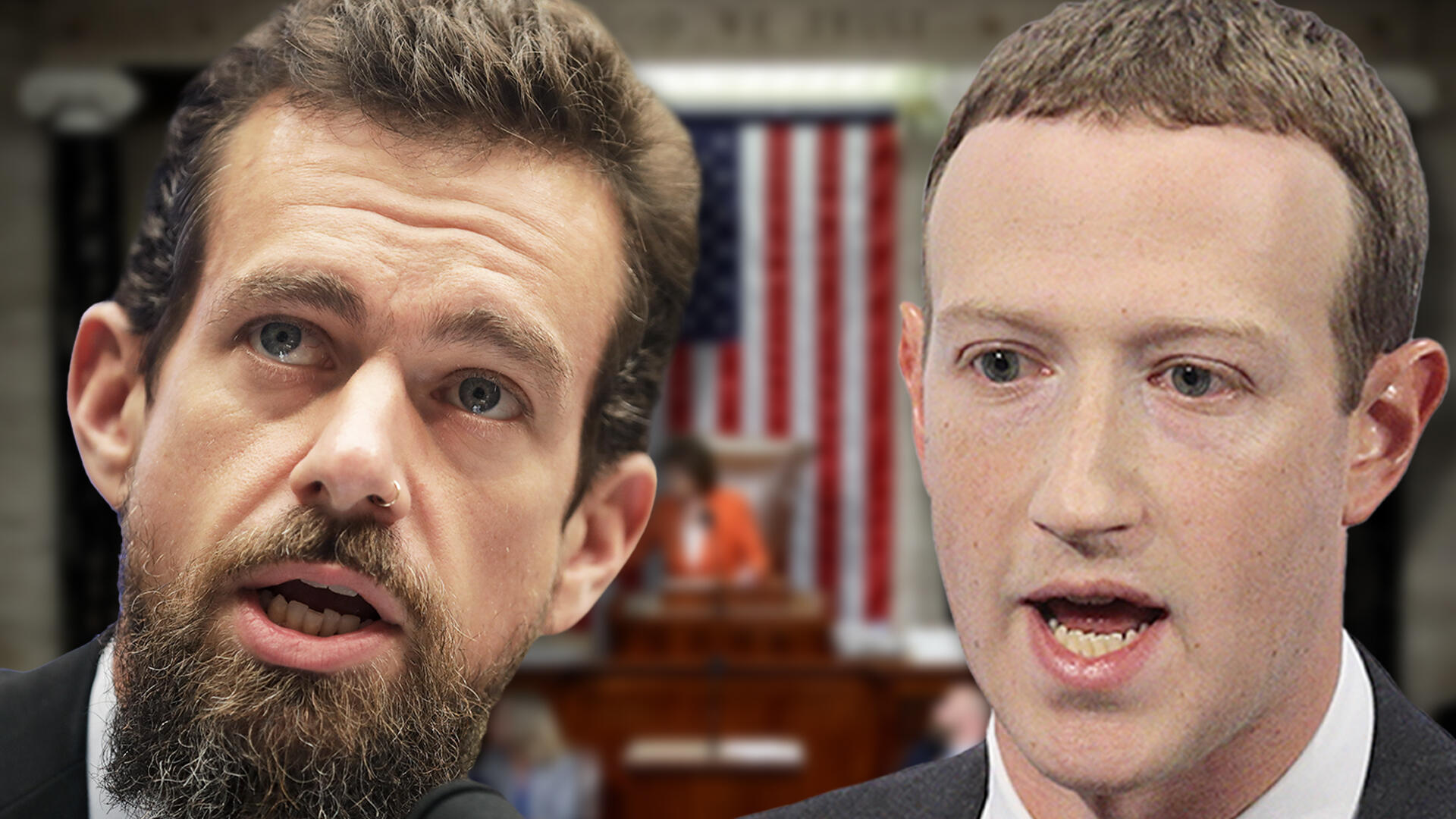 Watch Facebook and Twitter CEOs testify before Senate on 2020 election -- livestream