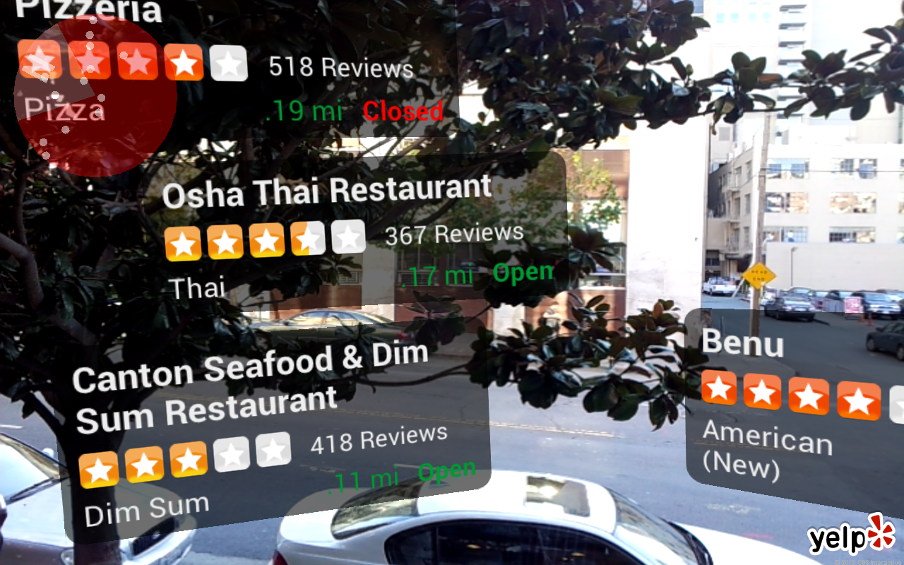 Yelp Monocle for Android