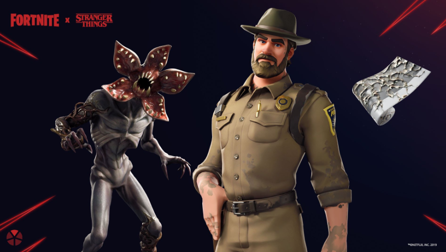 Stranger Things skins