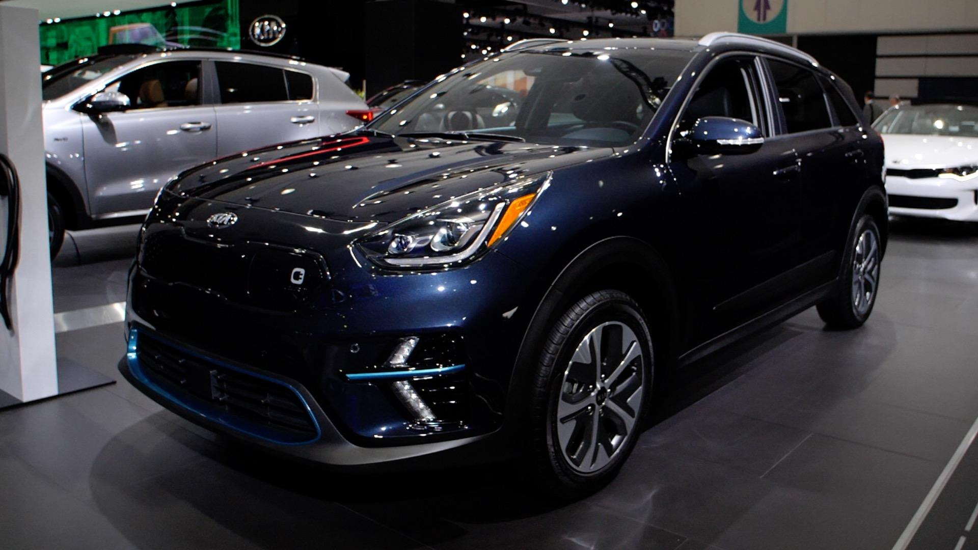 Video: All-electric 2019 Kia Niro EV debuts at the LA Auto Show