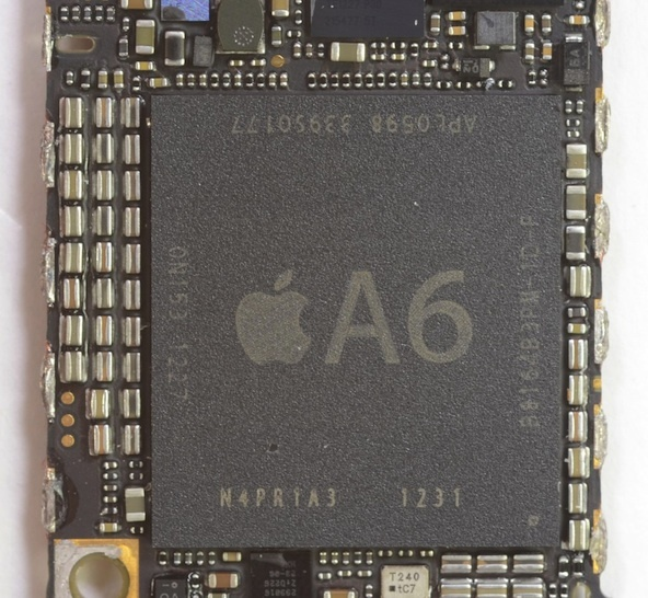 At least a portion of Apple's A series processors are made in the U.S. by Samsung.
