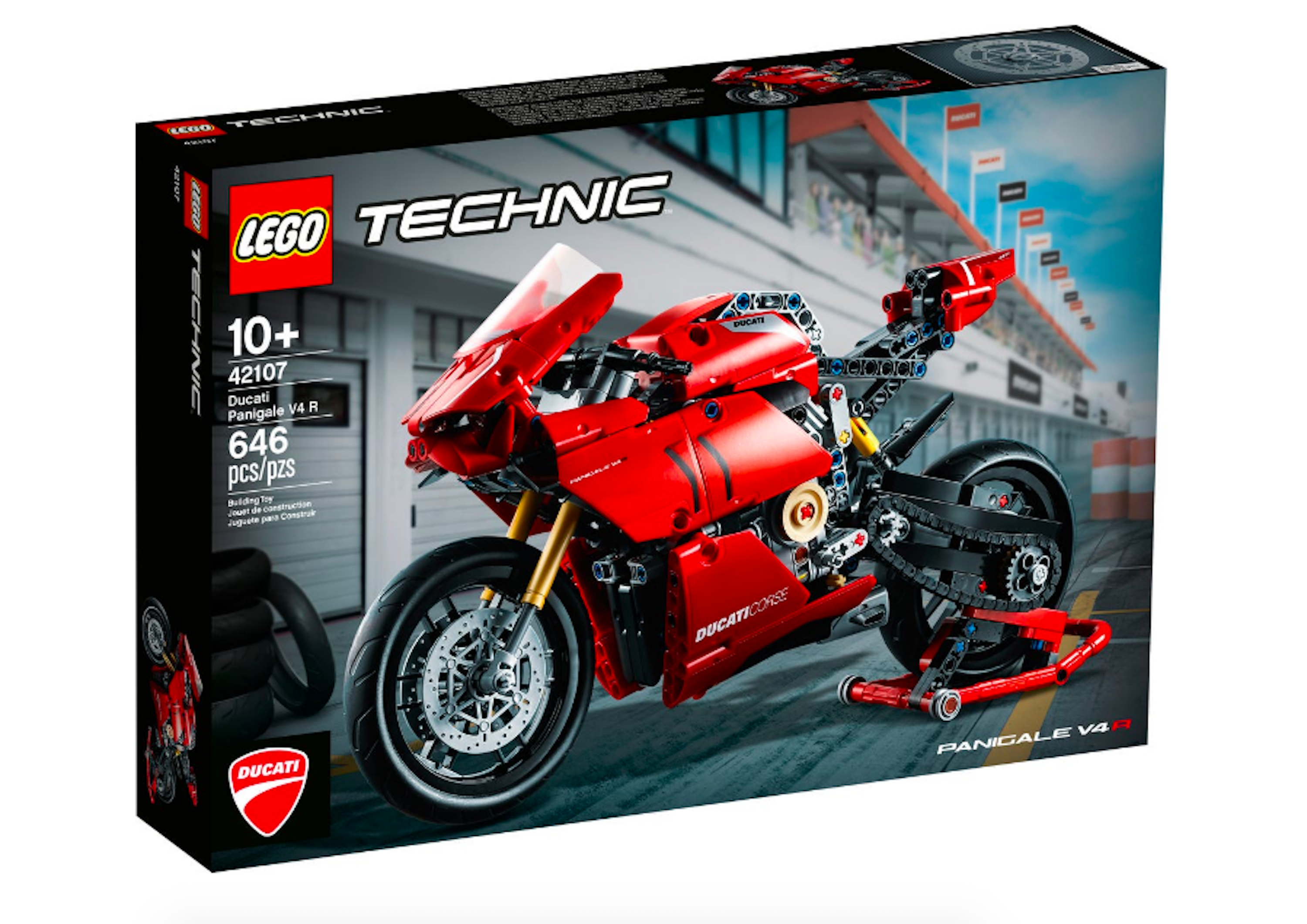 <p>The Lego Technic Ducati Panigale V4 R is set to come out on August 1st and will retail for $69.99.</p>