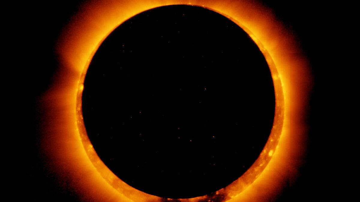 How to watch the 2021 'ring of fire' solar eclipse in a show