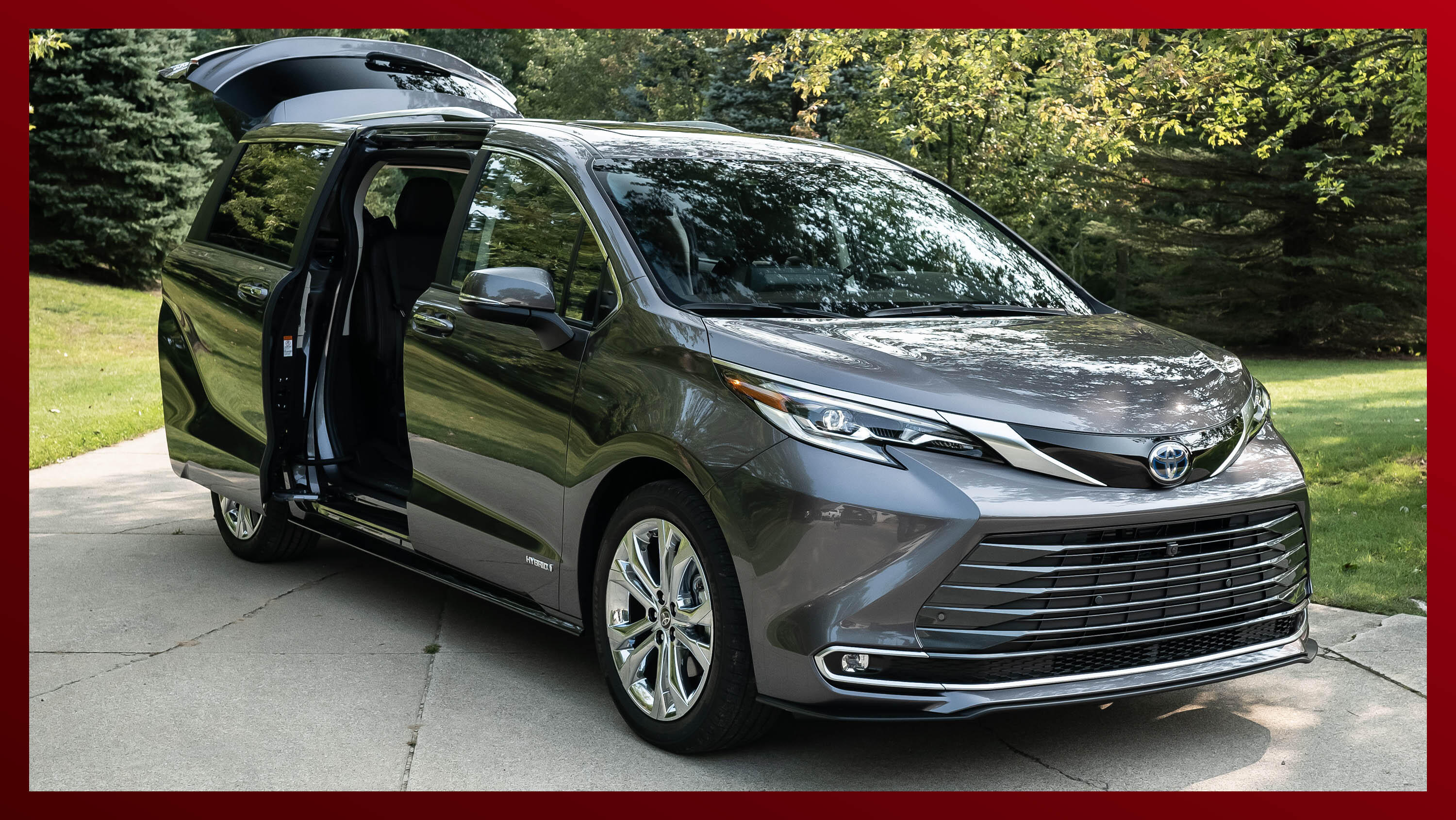 Video: 2021 Toyota Sienna first-look video