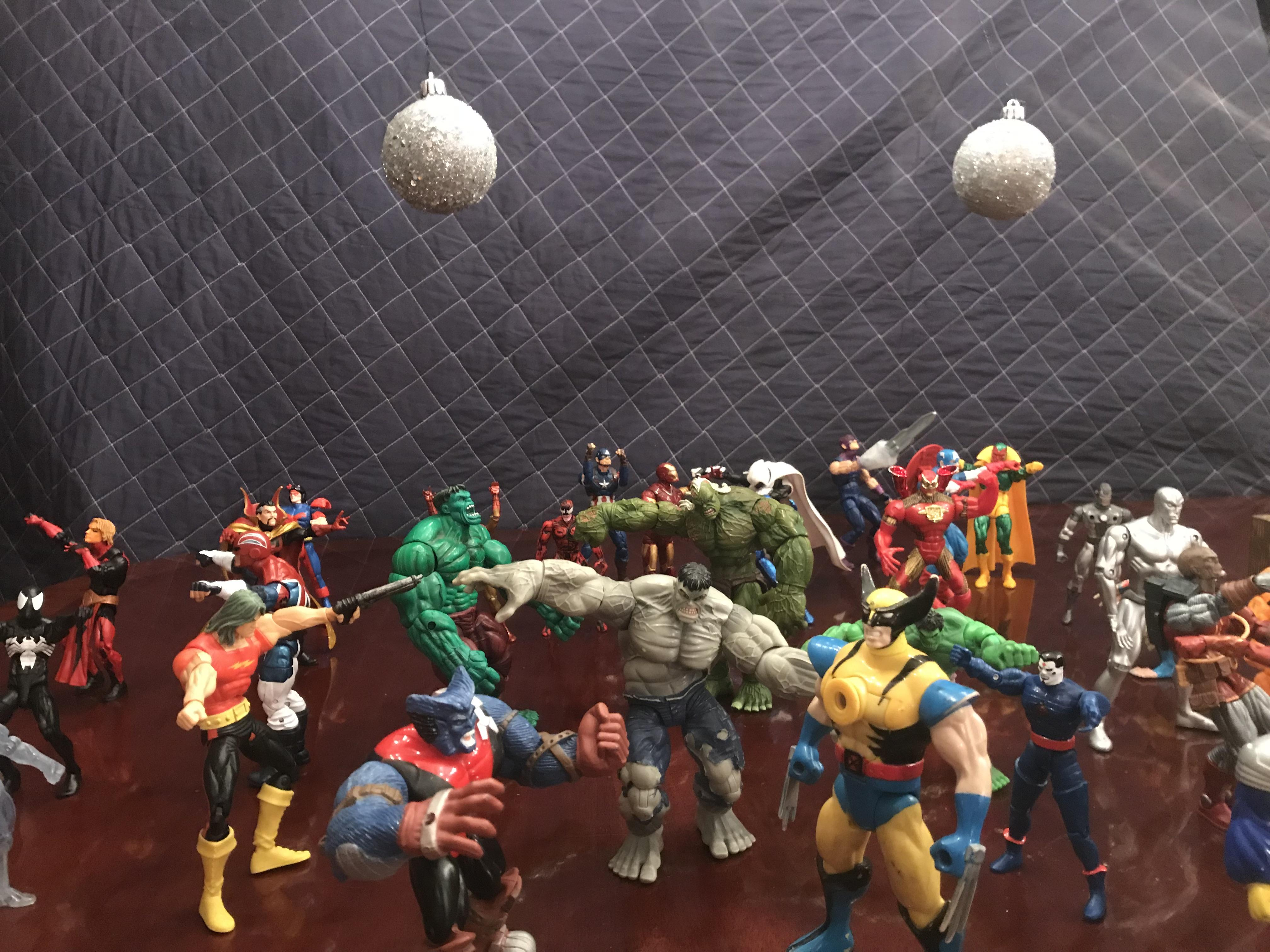 When you go to sleep, this is what action figures do