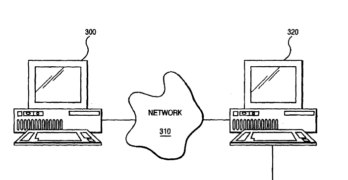 Patent 5,701,465, one of four at issue in the new lawsuit.