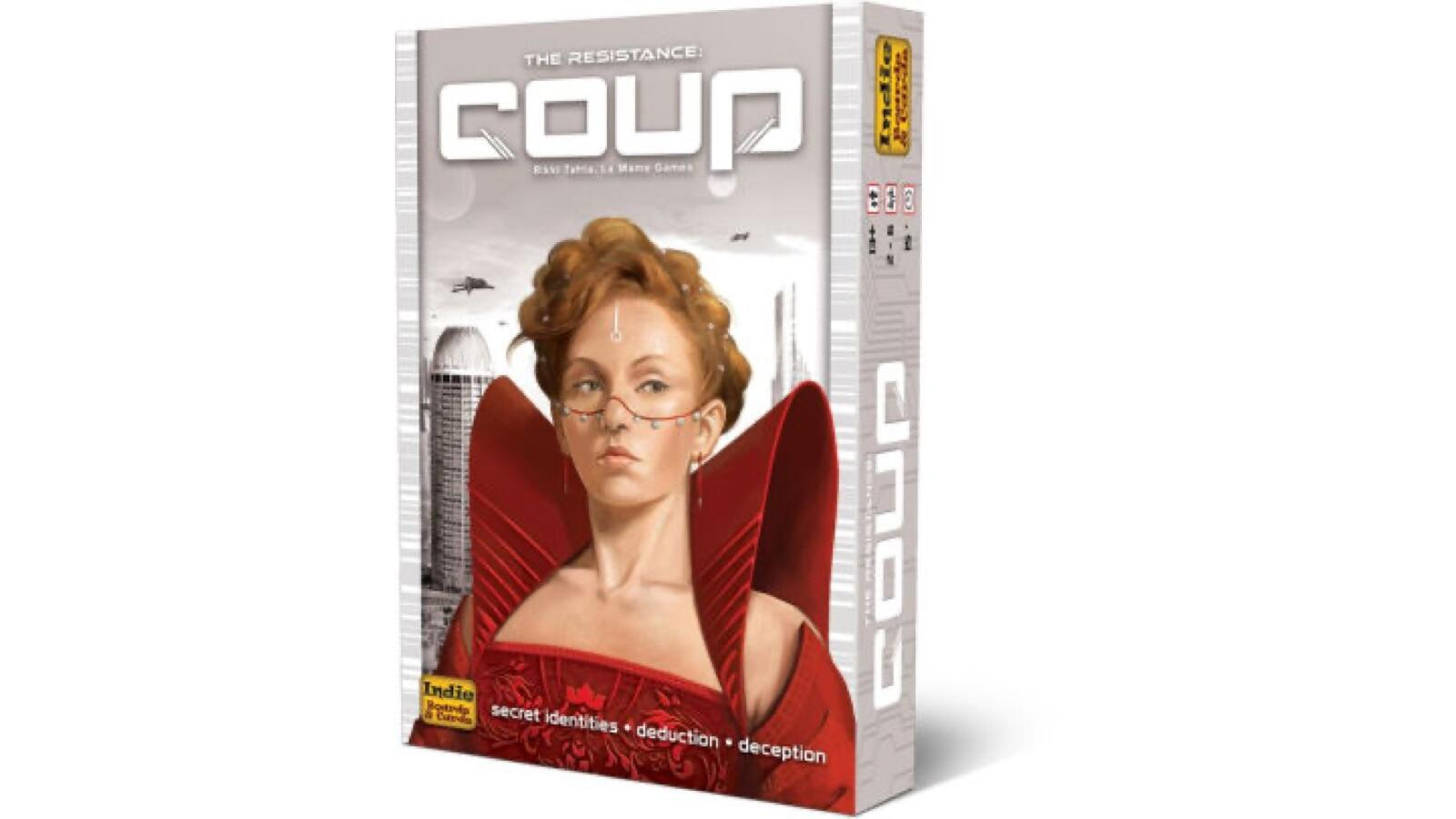 Popular party game    The coup today costs only $ 8