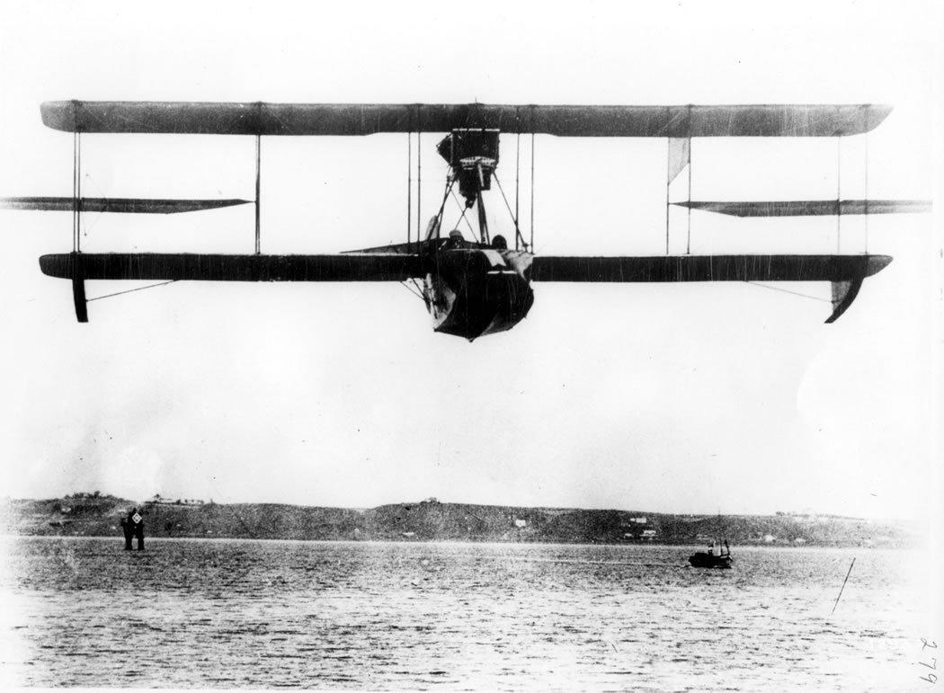 Curtiss flying boat