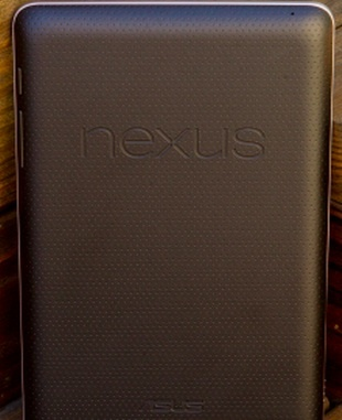 Google's Nexus 7: if done right, consumers like 7-inchers.