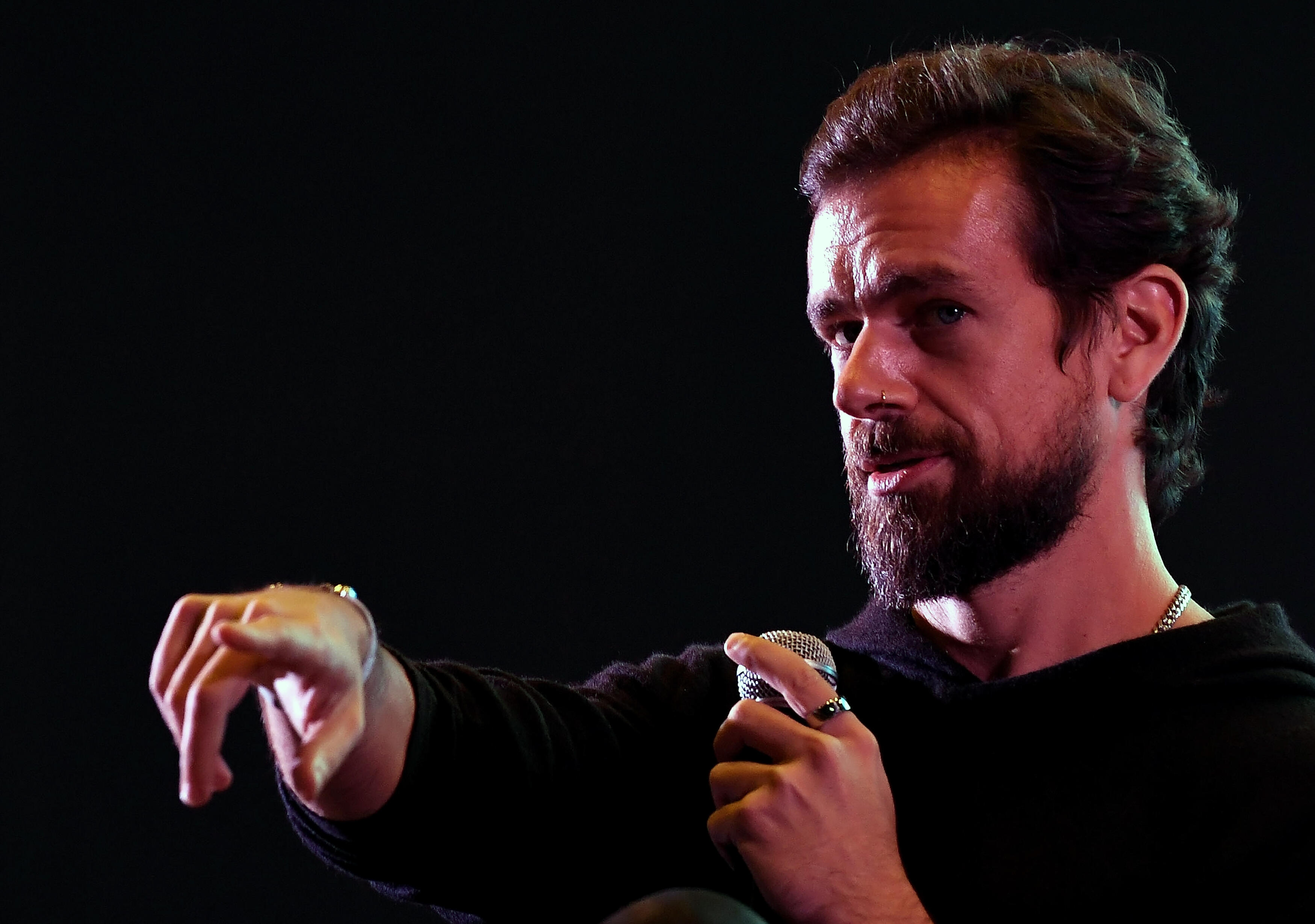 <p>Twitter CEO Jack Dorsey spoke virtually at the Goldman Goldman Sachs Technology and Internet conference on Wednesday.</p>