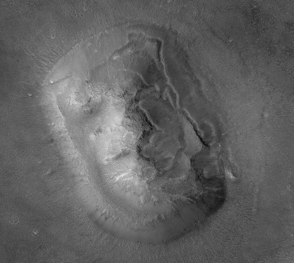 A newer look at the Mars face