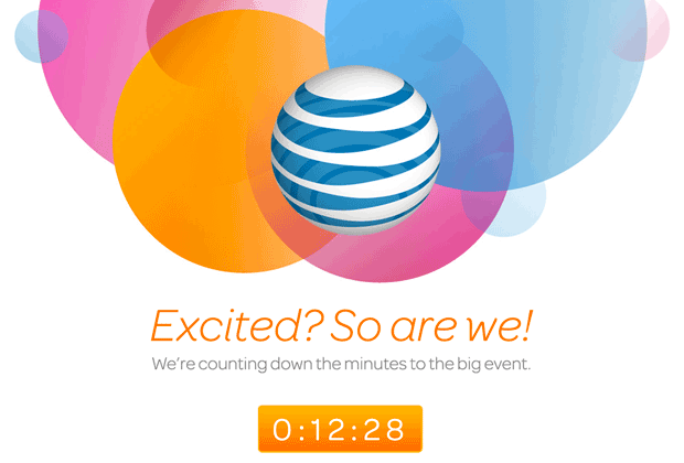 The iPhone means a lot to AT&T: the carrier devoted its entire home page to a countdown timer for the start of iPhone 5 preorders.