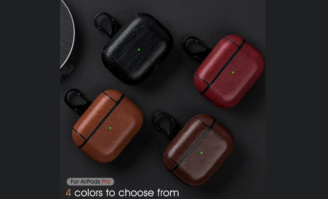 Class up your AirPods Pro with a leather case for just