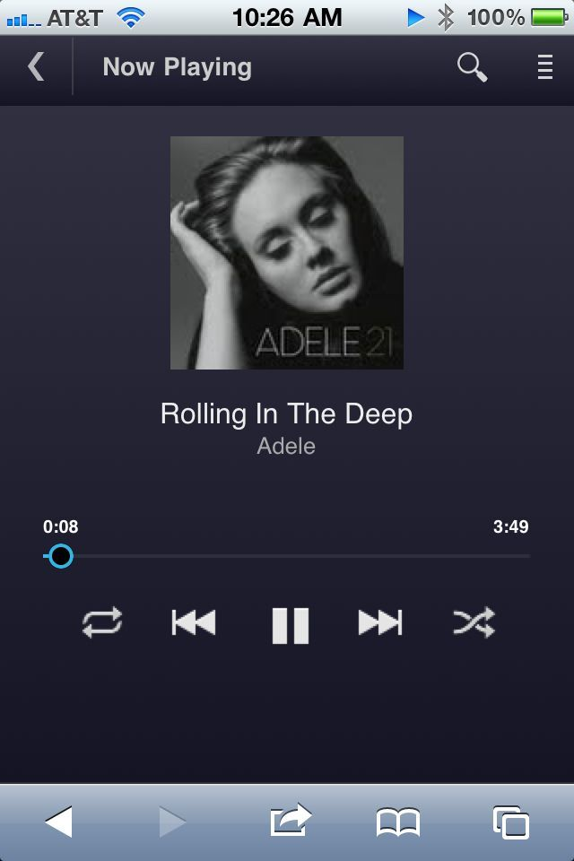It may not be much to look at, but Google's browser-based Music Beta interface gets the music-streaming job done.