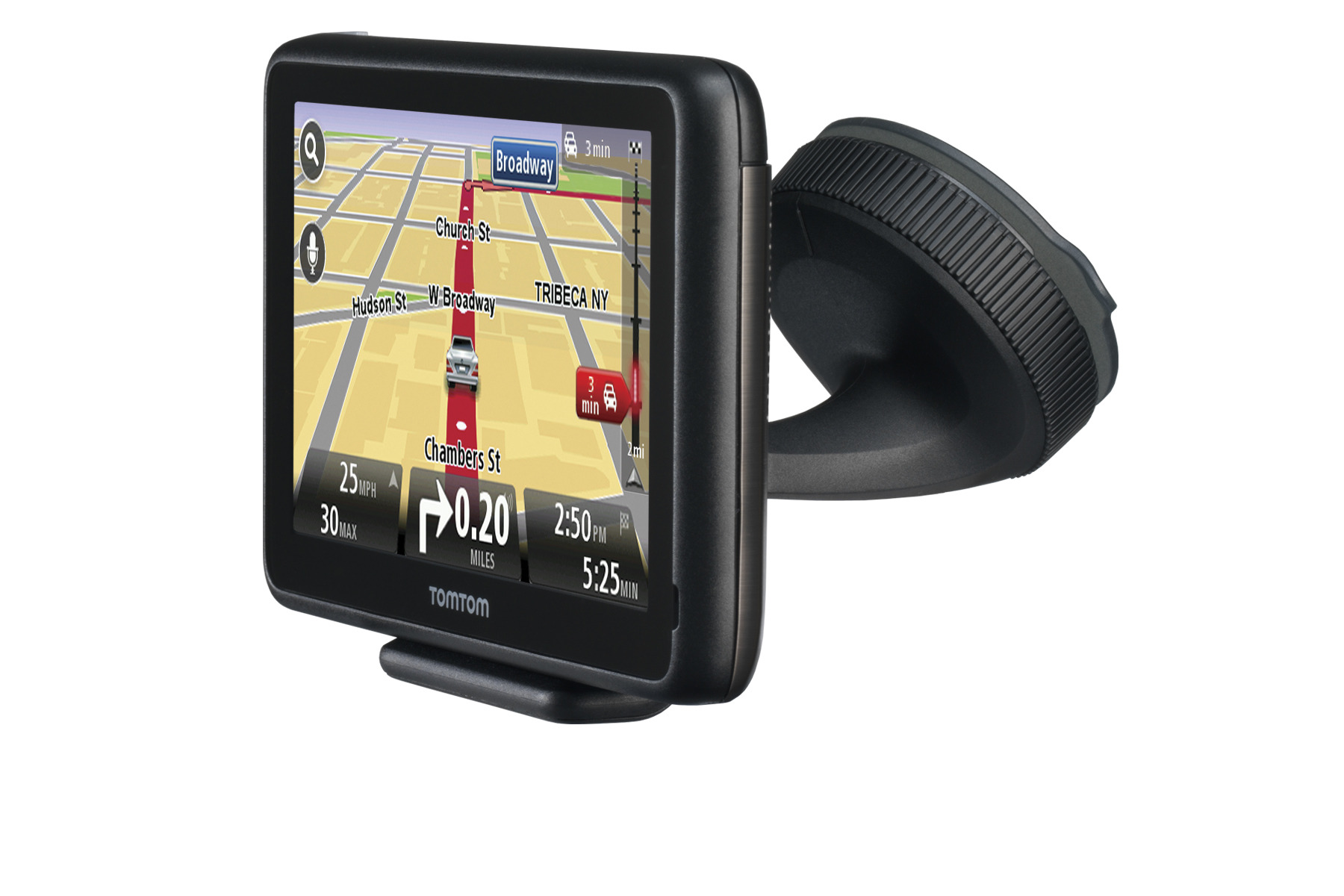 TomTom updates its GO series of navigators with a new capacitive touchscreen and an updated graphic interface.