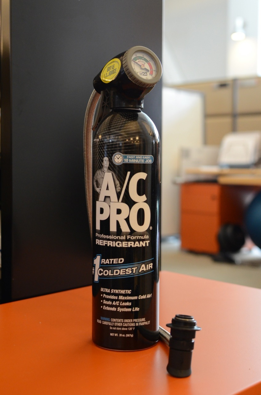 A/C Pro DIY air conditioner recharge kit