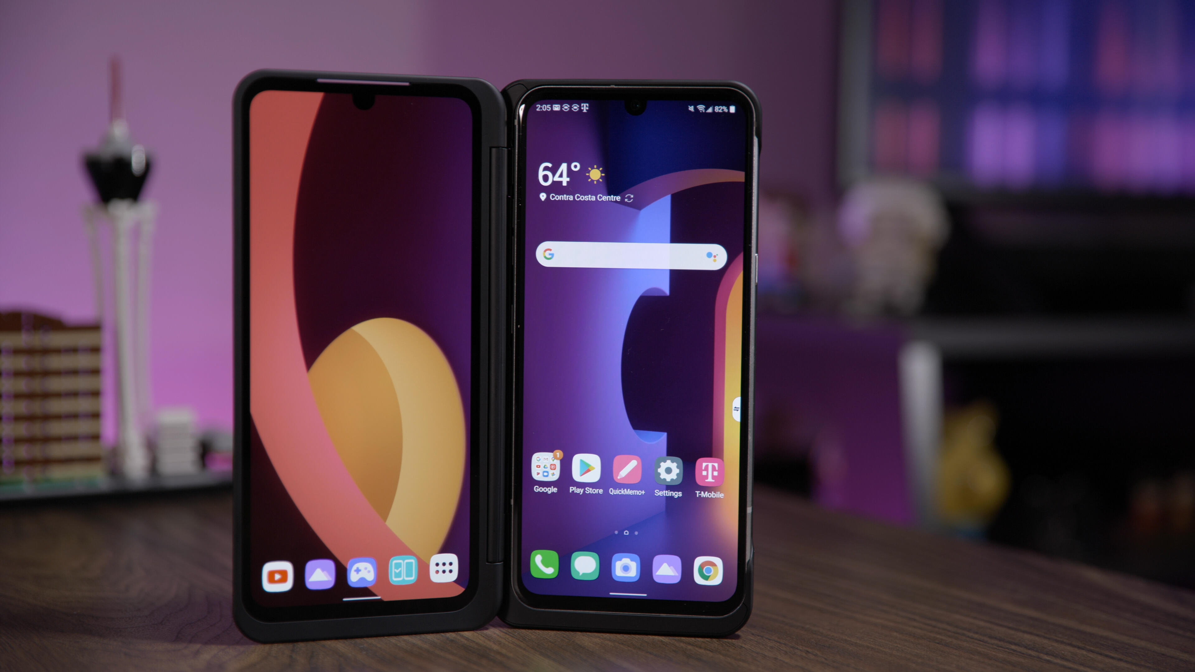 Video: LG V60 ThinQ 5G has us seeing double (the screen, that is)