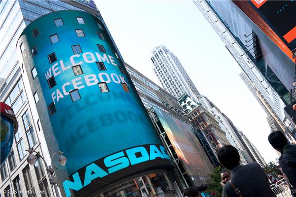 Nasdaq welcomed Facebook -- too bad it was a bit late.