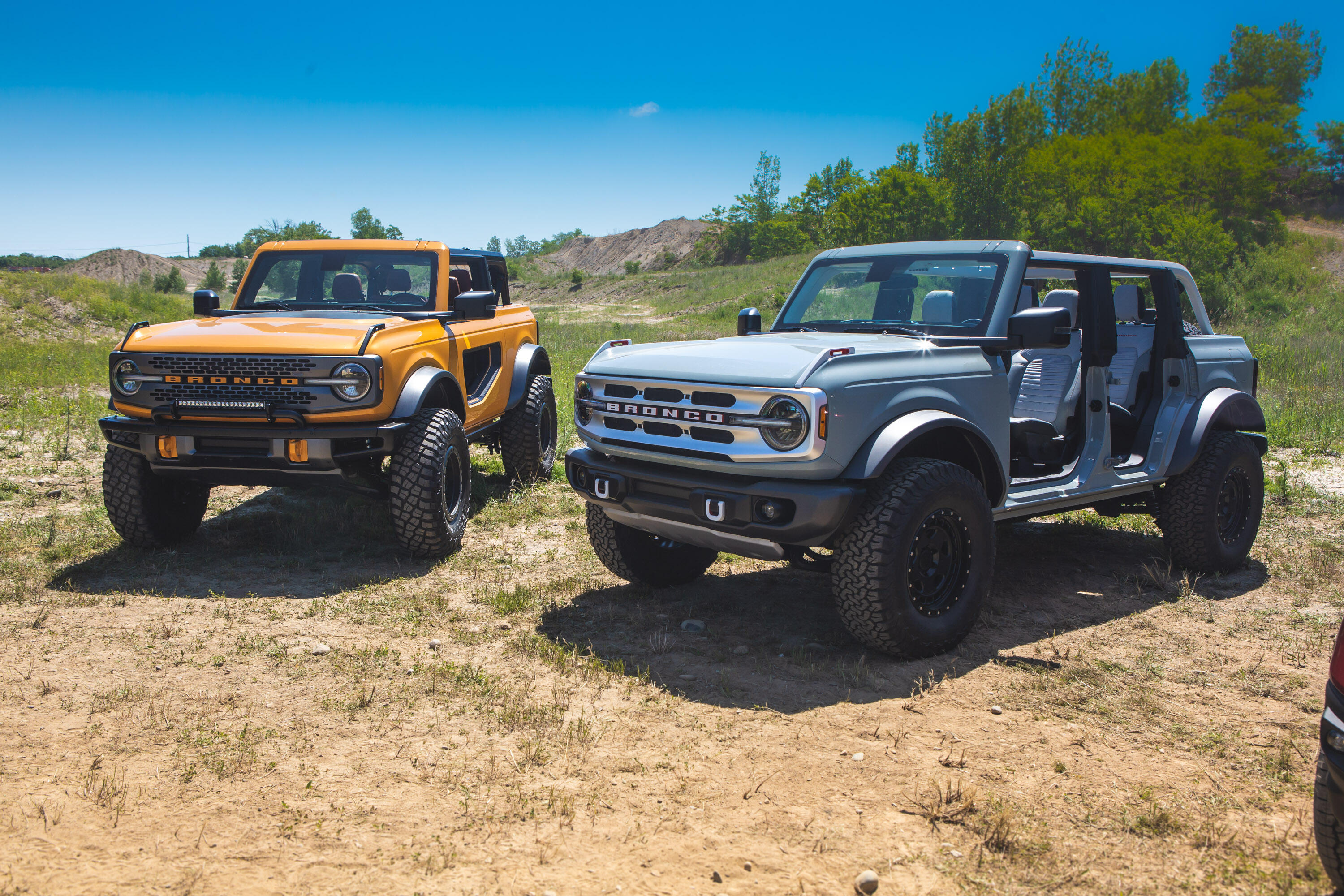 2021 Bronco- two and four-door models