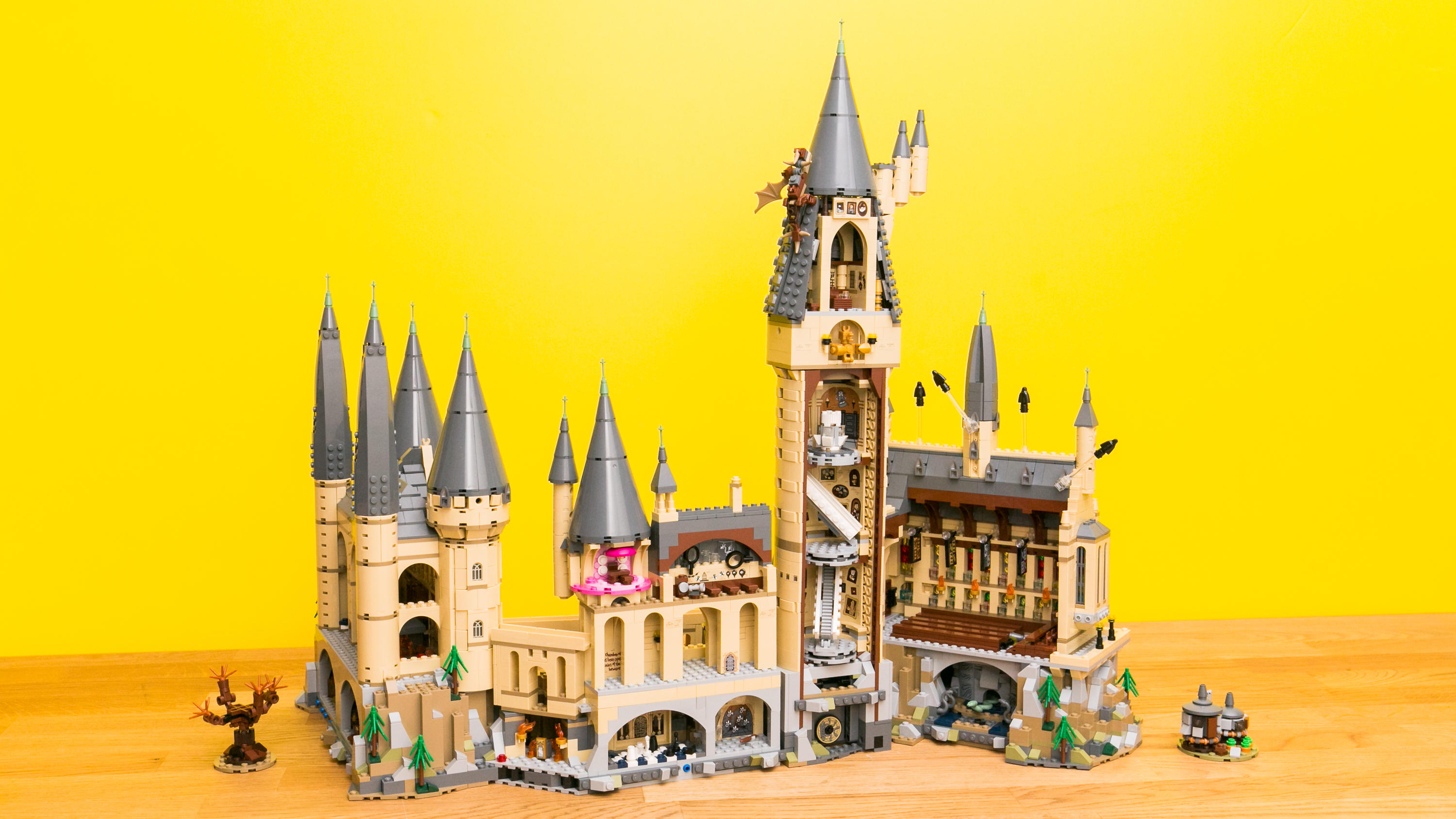 Video: Lego's giant Hogwarts brings Harry Potter's school to life
