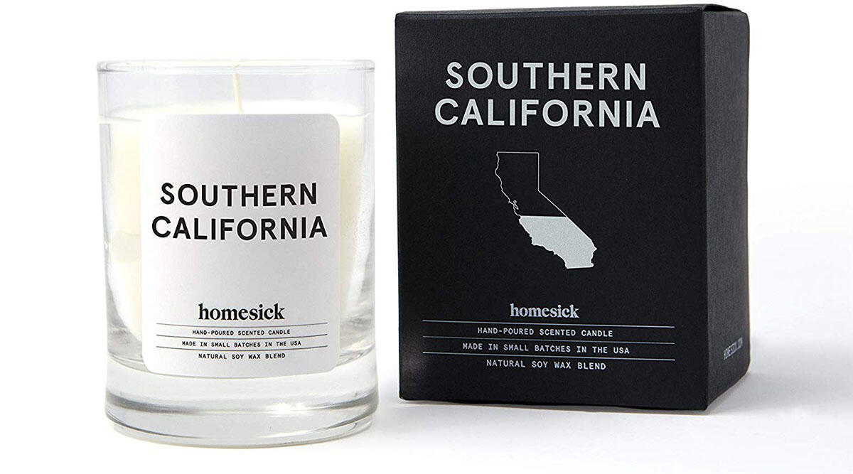 This candle that smells like California ($16.66)