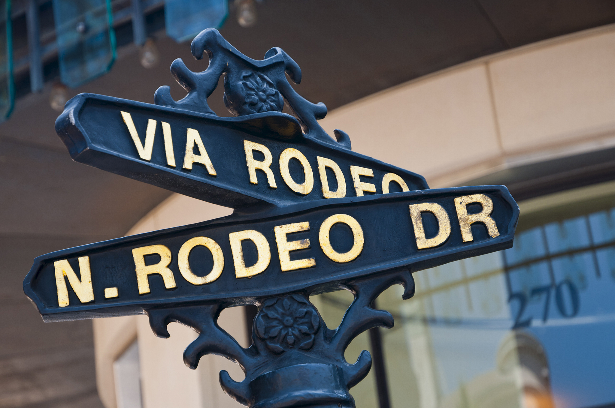 Rodeo Drive, Beverley Hills, Los Angeles, California, United States of America, North America