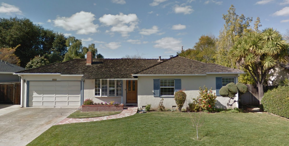 Apple co-founder Steve Job's early house where some of Apple's first computers were made.