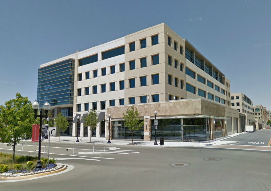The newly leased Sunnyvale, Calif., office building that will hold some 400 Apple employees.