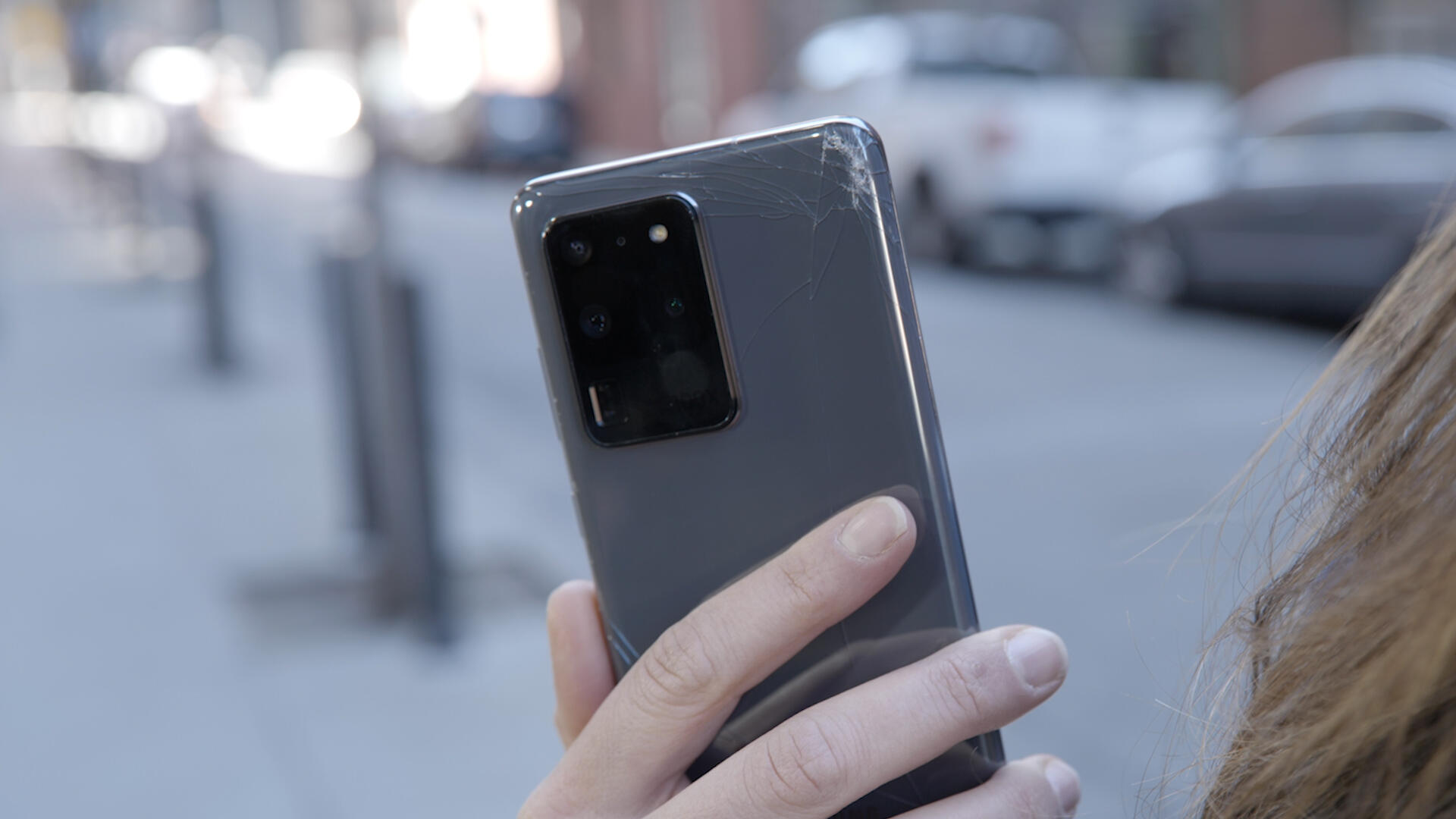 Video: The Galaxy S20 Ultra shattered, but the camera survived