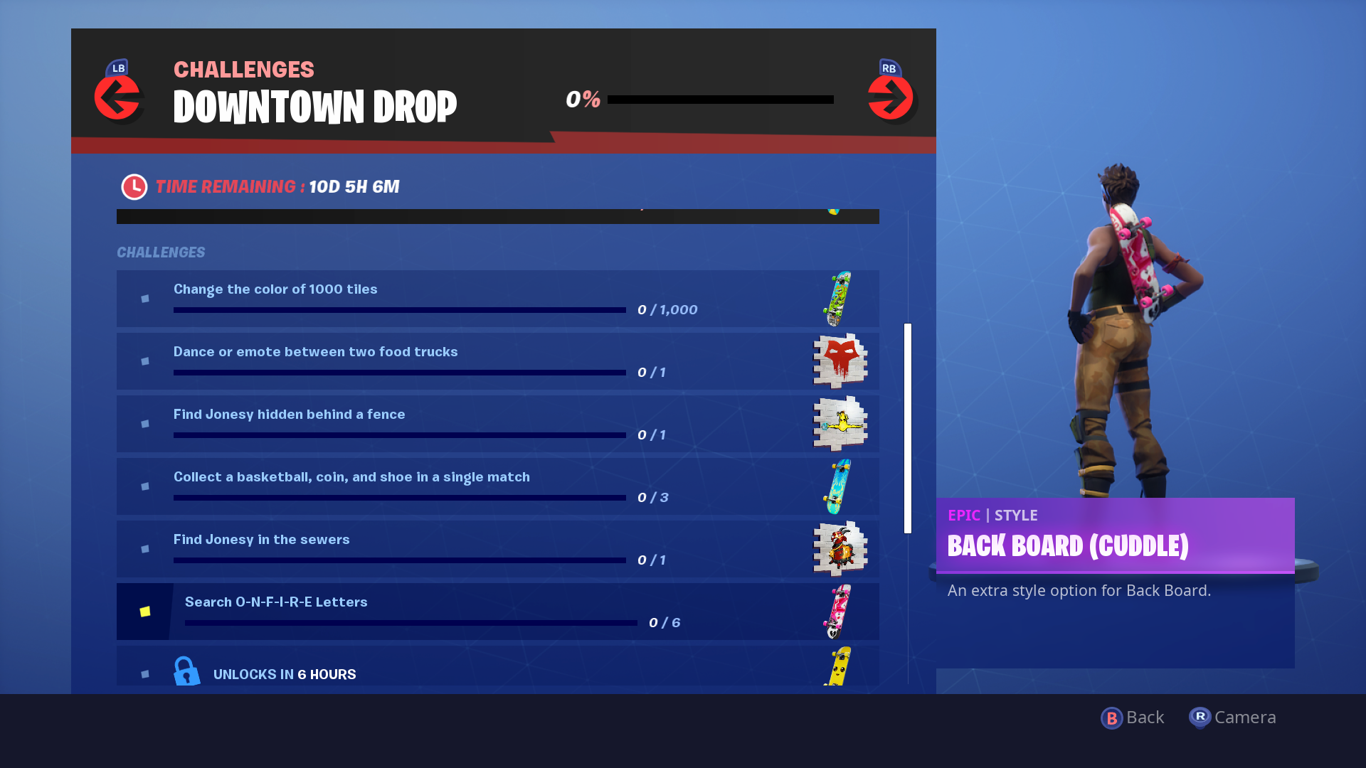 Fortnite Downtown Drop Challenges