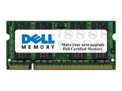 Dell - DDR2 - module - 2 GB - SO-DIMM 200-pin - 800 MHz / PC2-6400 - unbuffered