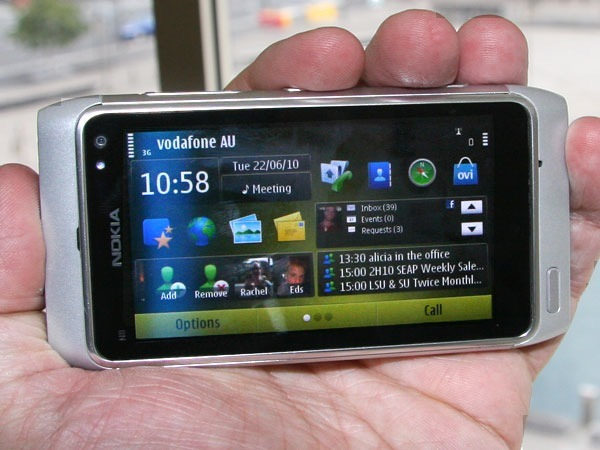 Nokia's N8 will be the last of the N-series phones to use the Symbian OS. Replacing it will be the Linux-based MeeGo software from Nokia and Intel.