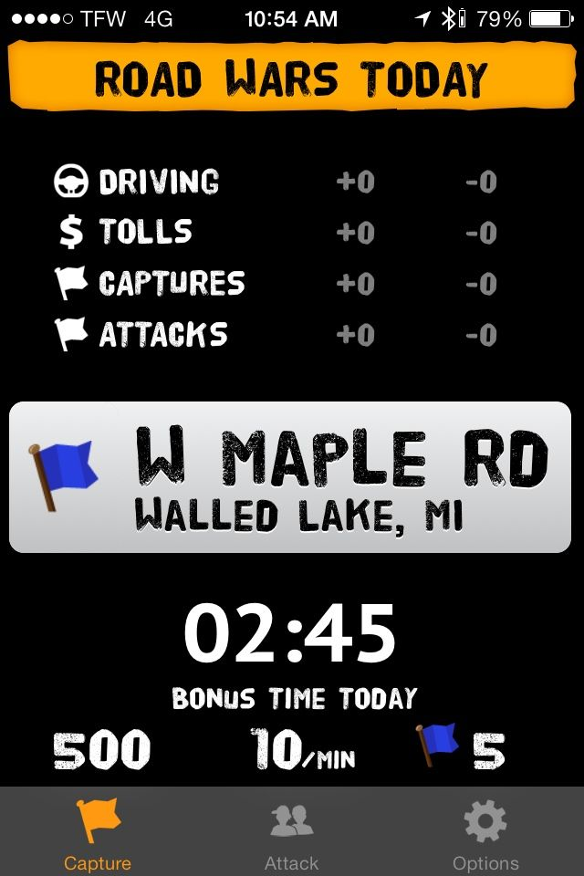 Road Wars for iOS brings gamification to safe driving.