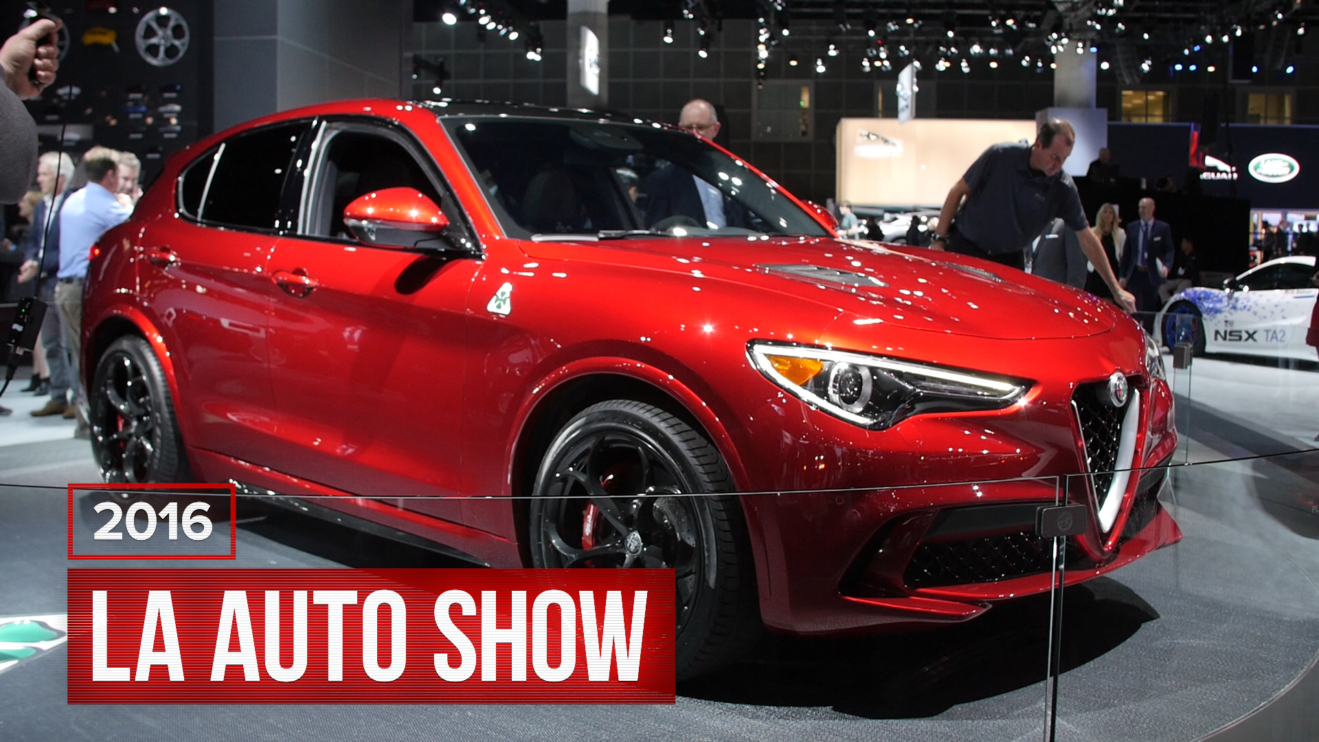 Video: Alfa Romeo gets into the SUV business with the Stelvio