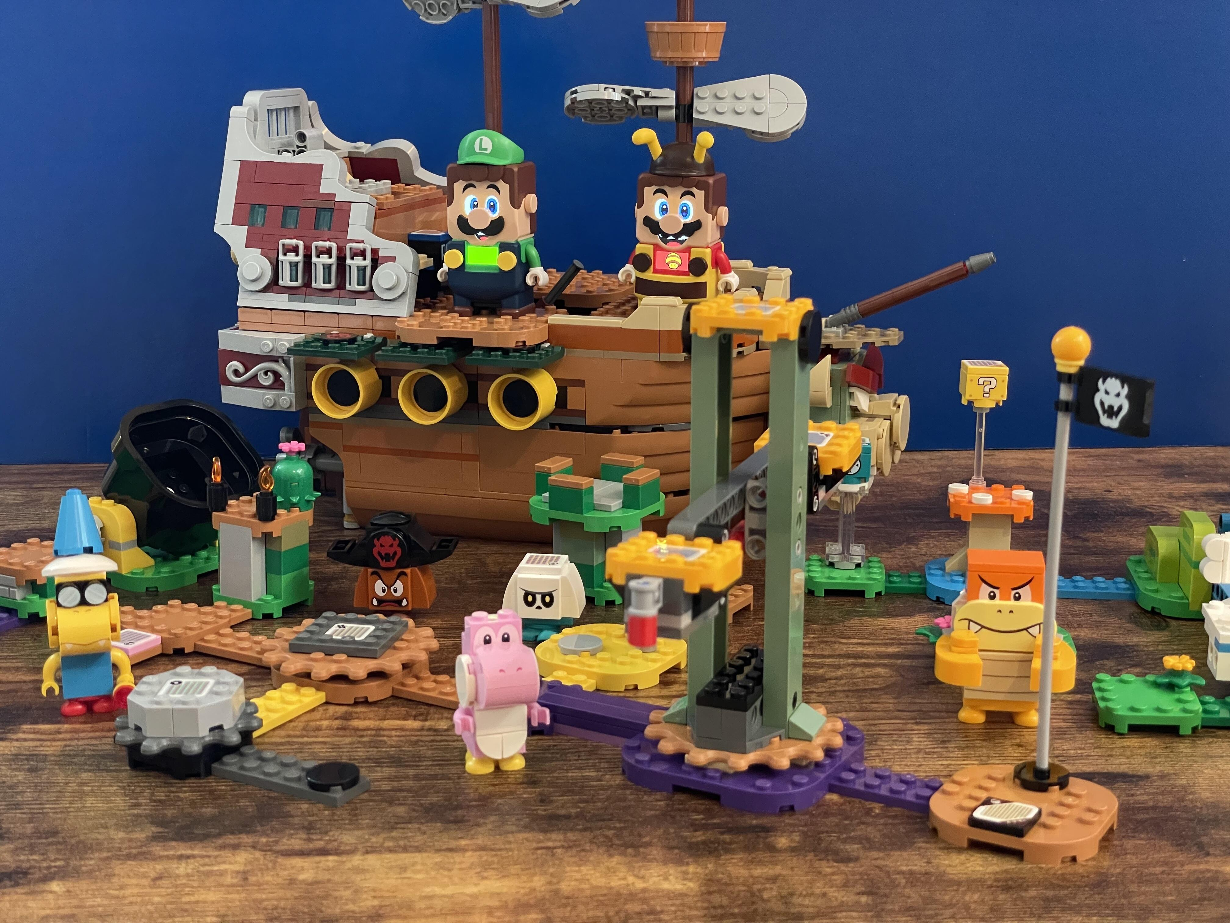 <p>This is several kits' worth of Super Mario bricks, but the Lego approach to Super Mario remains inspired.</p>