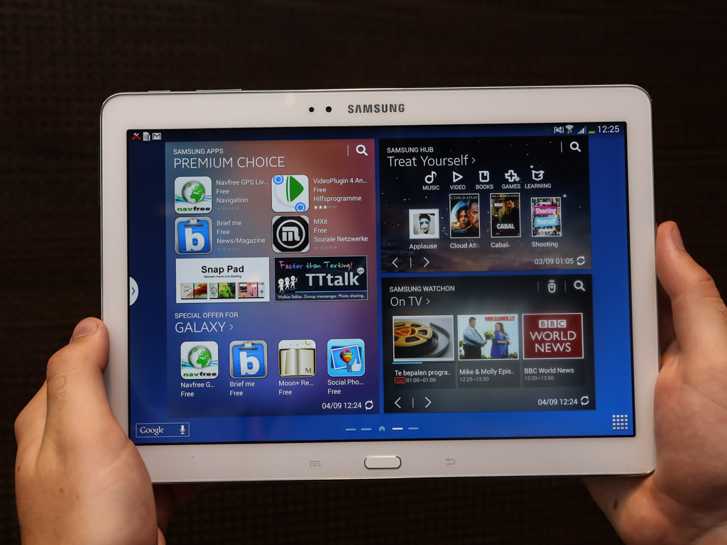 The 2014 edition Galaxy Note 10.1